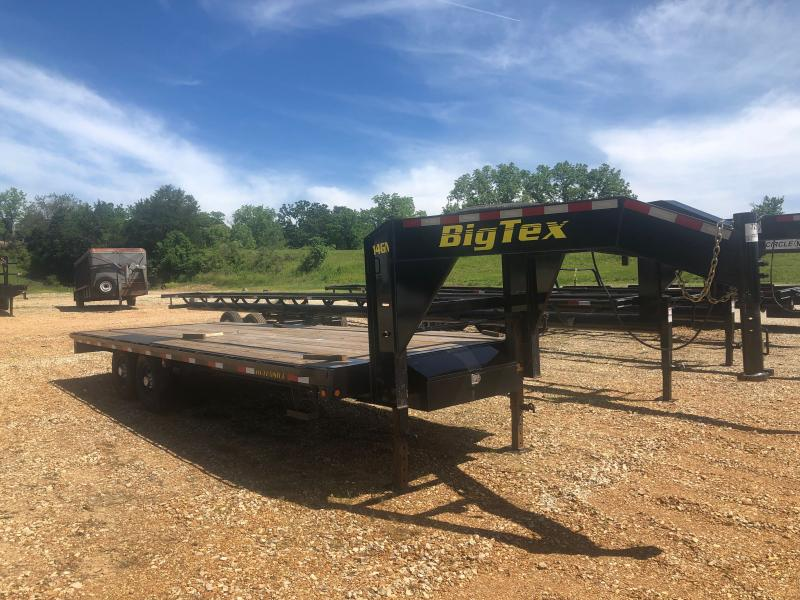 Used 2019 Big Tex 102x22 Equipment Trailer