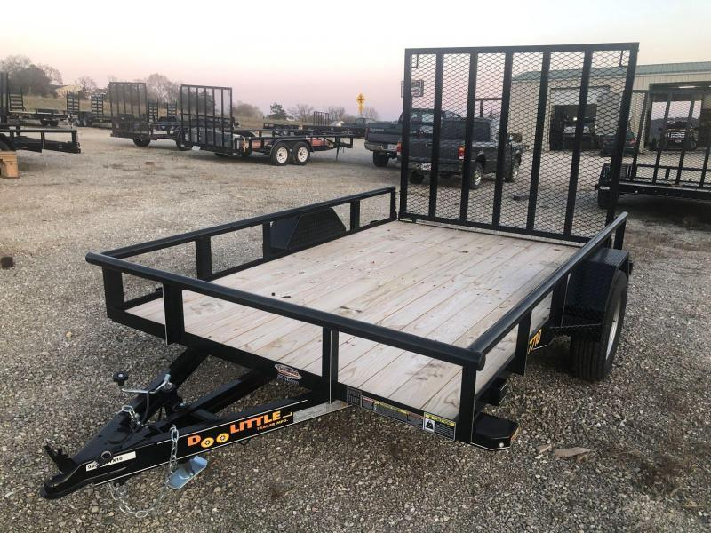 2020 Doolittle Trailers 77x10 Single Axle Utility