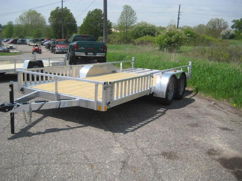 2020 Rance Aluminum Trailers Rough Rider RRU6516TA2 Utility Trailer