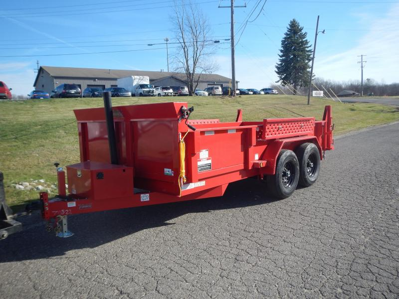 2021 Forest River HDL6814TA5 Dump Trailer
