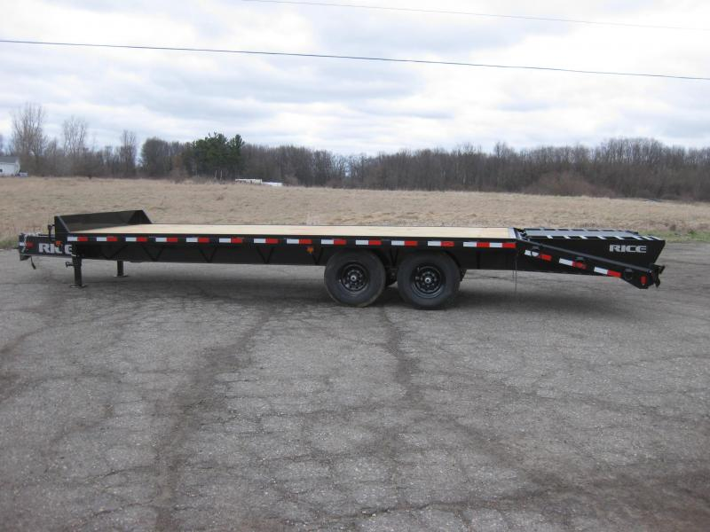 2020 Rice DOP14205 Flatbed Trailer