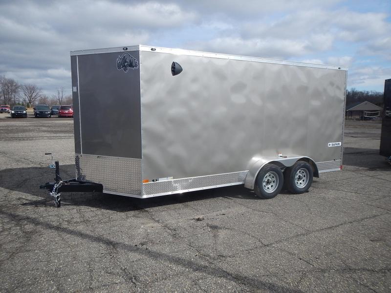 2021 Rhino Trailers SAFARI TA2 7 X 16 Enclosed Cargo Trailer