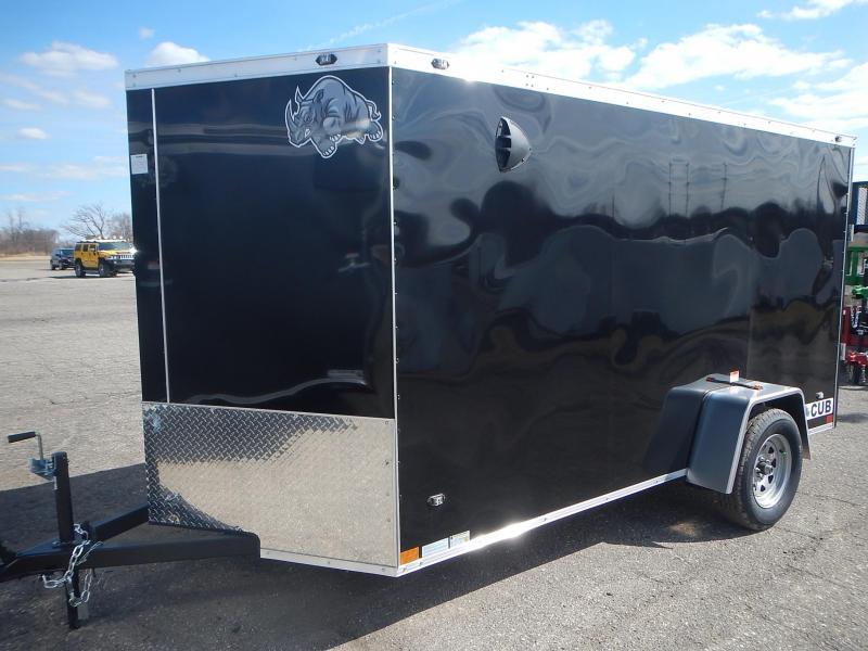 2021 Rhino Trailers CUB 6 X 12 Enclosed Cargo Trailer
