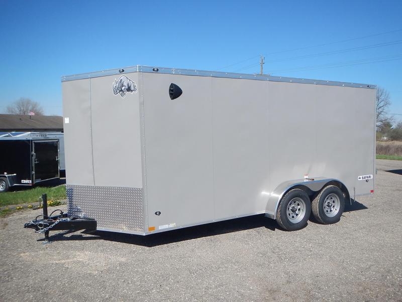 2021 Rhino Trailers 7 X 16 SAFARI TA2 Enclosed Cargo Trailer