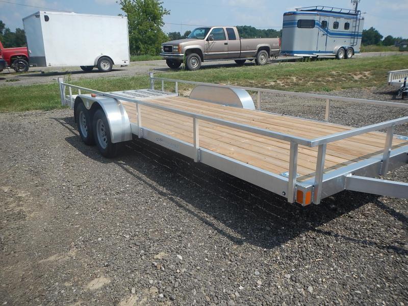 2022 Rance Aluminum Trailers RRU6520TA2 Utility Trailer