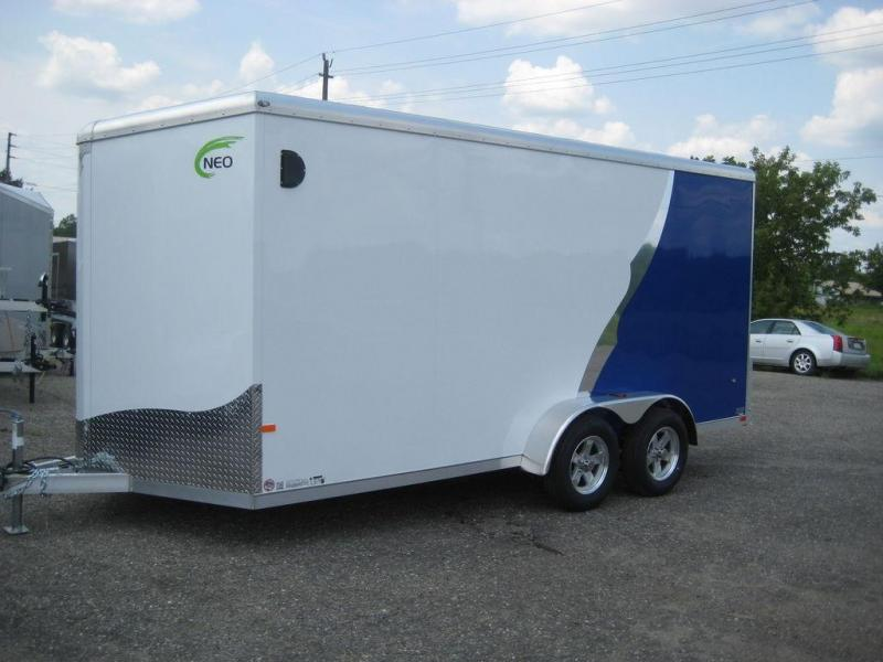 2020 NEO Trailers NAVR NAV167TR Enclosed Cargo Trailer