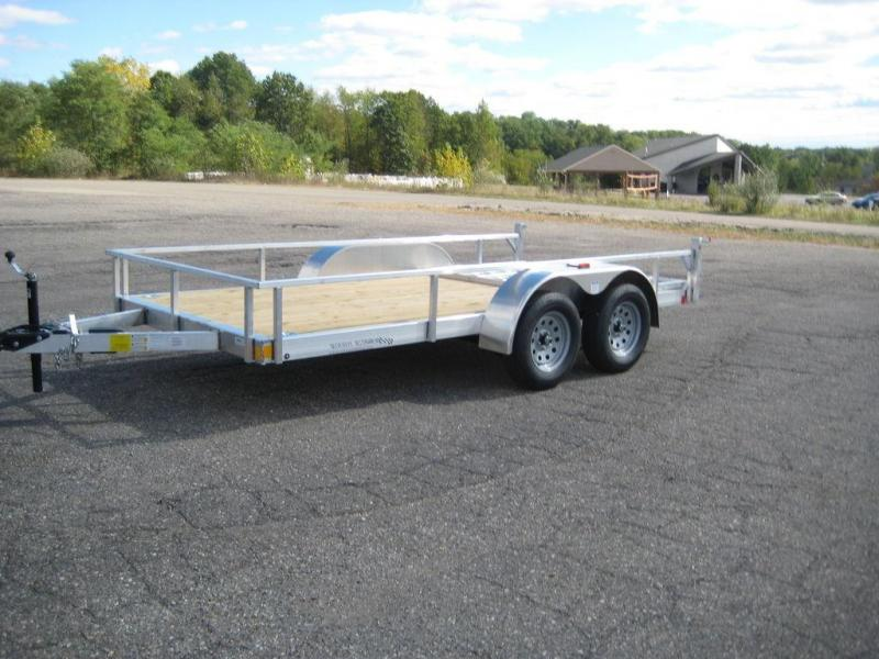 2021 Rance Aluminum Trailers Rough Rider RRU6514TA2 Utility Trailer