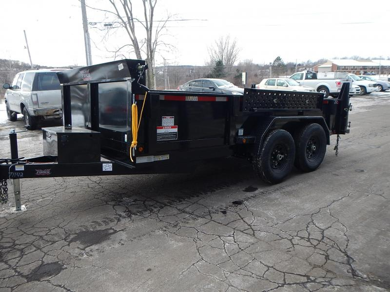 2021 Forest River FAHDL6814TA5 Dump Trailer
