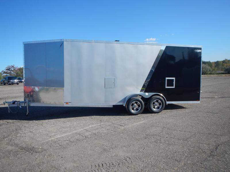 2021 Lightning Trailers LTEFS718TA2 Snowmobile Trailer