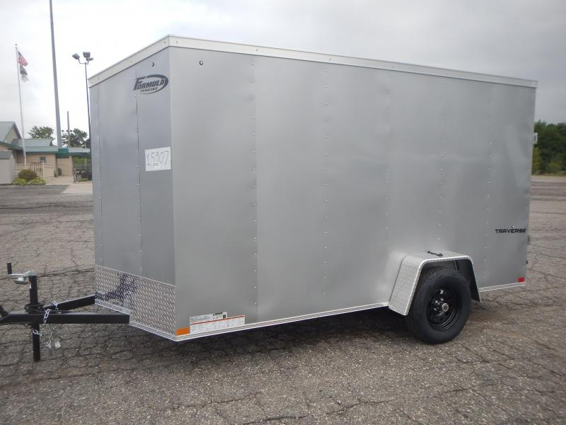 2022 Formula Trailers 6 x 12 Enclosed Cargo Trailer