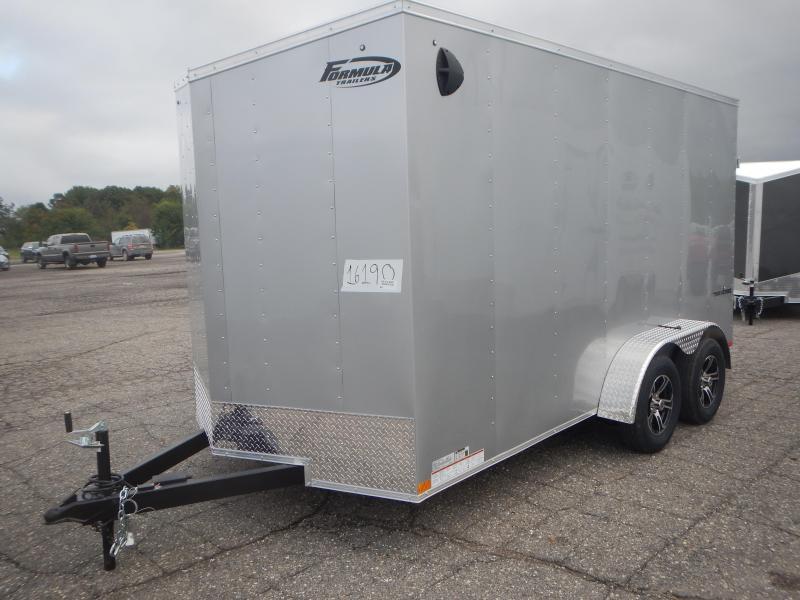 2022 Formula Trailers 7 X 14 Enclosed Cargo Trailer