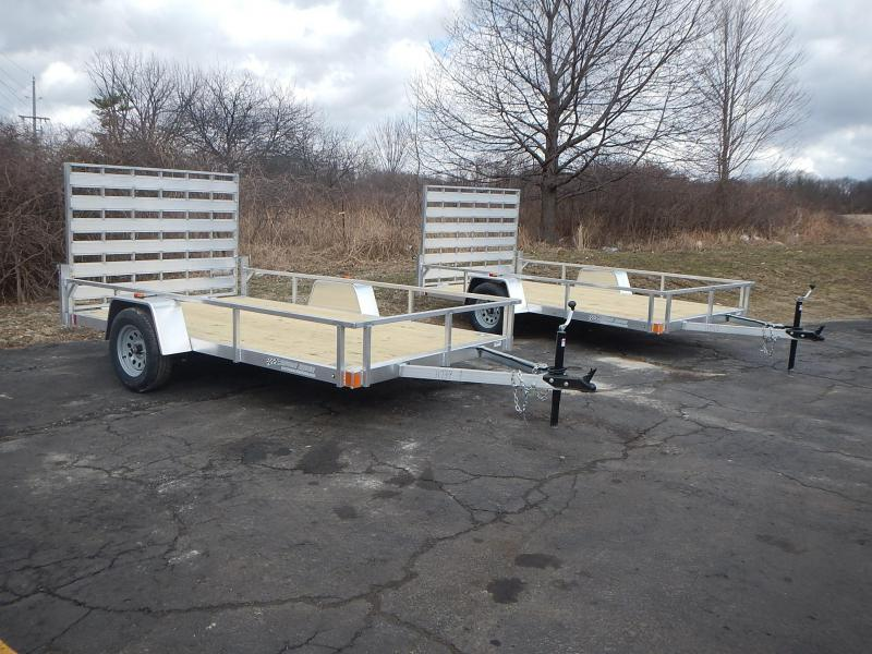 2019 Rance Aluminum Trailers Rough Rider RRU6512SA Utility Trailer