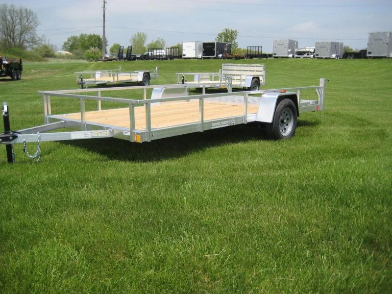 2020 Rance Aluminum Trailers Rough Rider RRU6514SA Utility Trailer