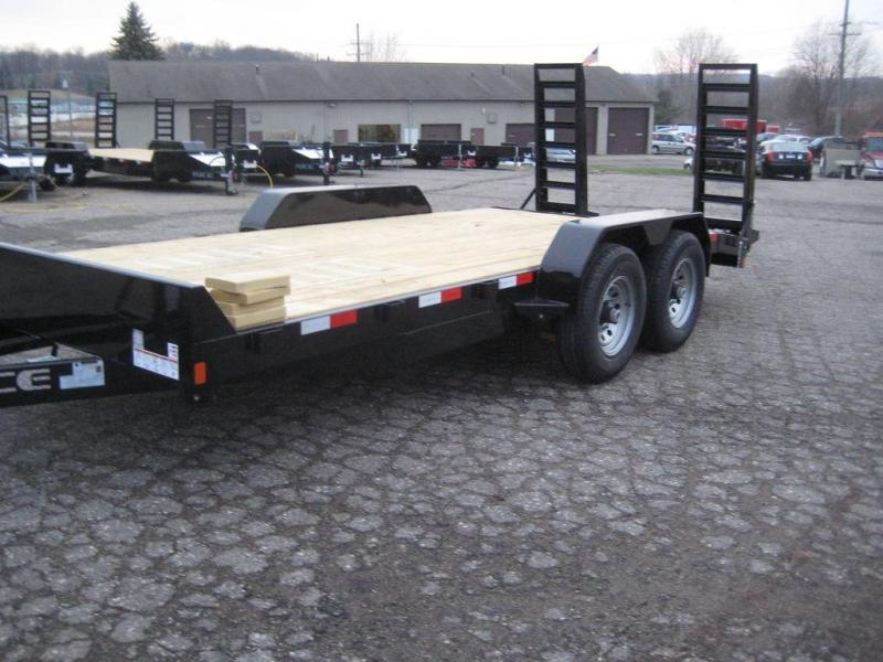 "2020 Rice Magnum 82"" x 16'+2' Equipment Trailer 14K"