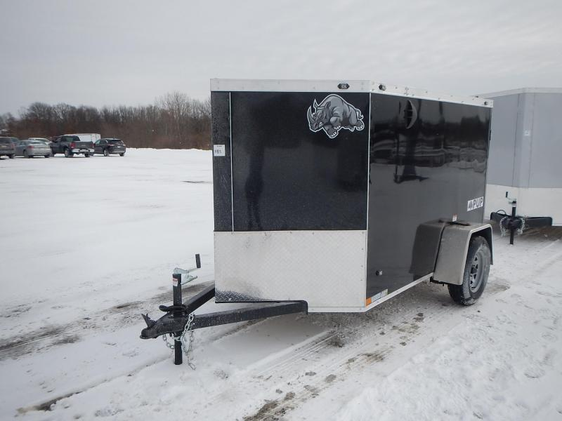 2021 Rhino Trailers PUP SA 5' X 8' Enclosed Cargo Trailer