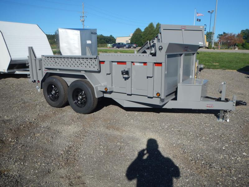2021 Forest River FAHDL6812TA4 Dump Trailer