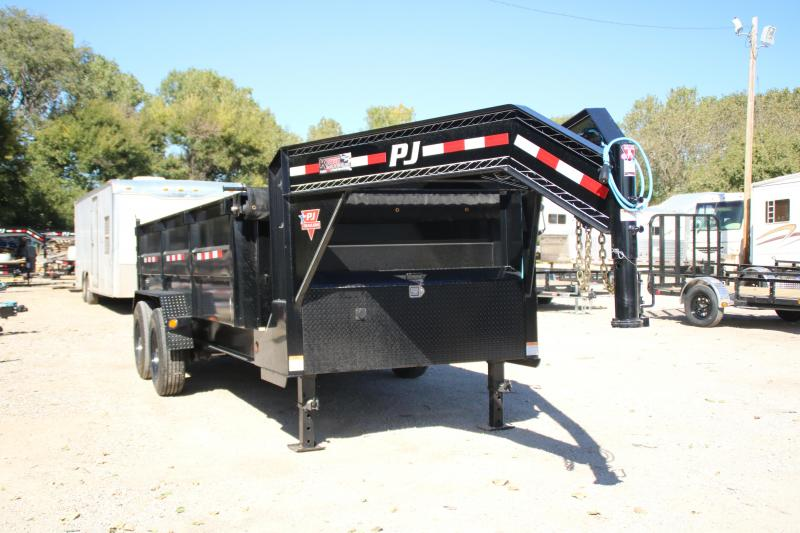 2021 PJ Trailers HD Low-Pro Dump (DE) Dump Trailer