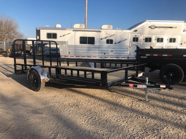 2021 PJ Trailers 6 x 14 Single Axle Channel Utility (U8) Utility Trailer