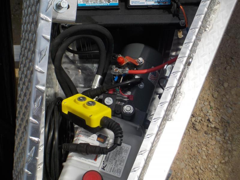 2020 H and H Trailer 82 x 20 14K BP HD Electric Tilt Speedloader Open Carhauler