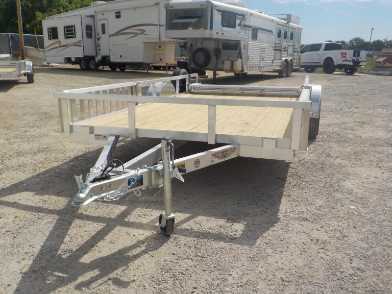 2020 H and H Trailer RSA 8.5X14F RS Utility Trailer