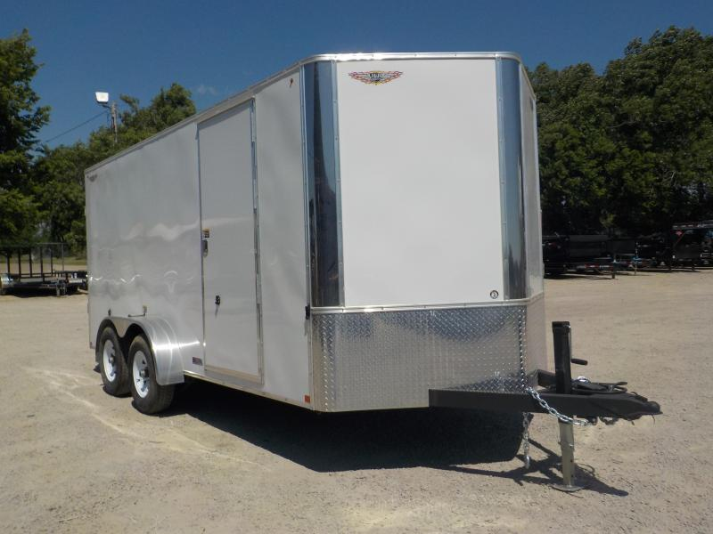 2020 H & H Trailers 84X16 TFTV-100 Enclosed Cargo Trailer