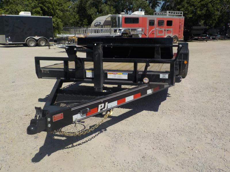 2020 PJ Trailers 6 in. Channel Equipment Tilt 6 x 24 (T6) Equipment Trailer