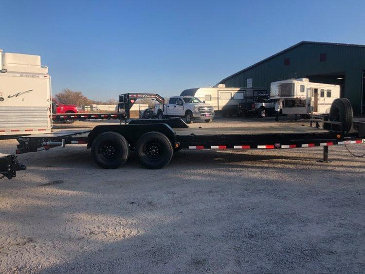 2021 PJ Trailers 8 in. Channel Equipment Tilt 8 x 22 (T7) Equipment Trailer