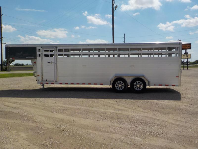2020 Sundowner Trailers Rancher Express 24GNXP Livestock Trailer