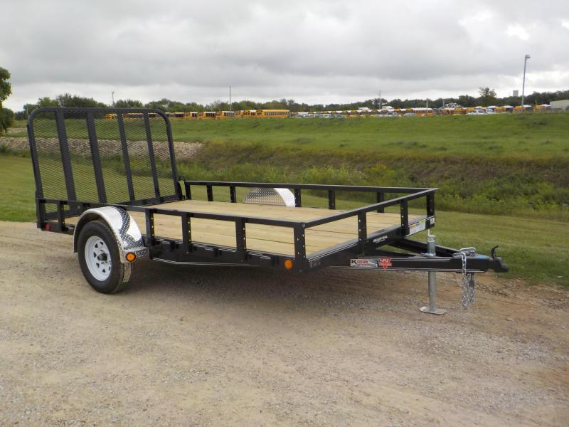 2020 PJ Trailers 83X12 Single Axle Channel Utility (U8) Utility Trailer