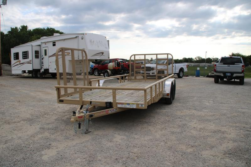 "2020 PJ Trailers 18'X83"" TANDEM AXLE CHANNEL UTILITY Utility Trailer"