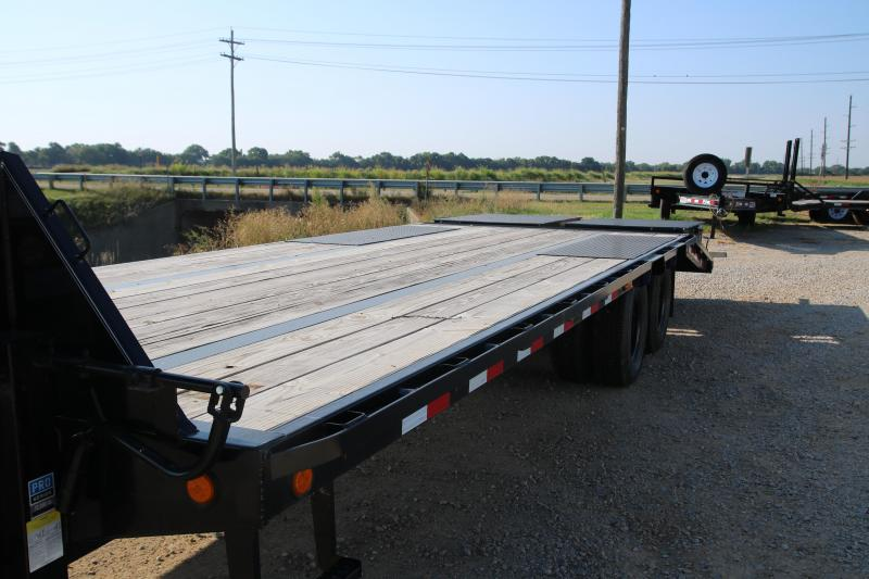 2020 PJ Trailers102x8'6 with 25' Low-Pro Flatdeck with Duals Trailer