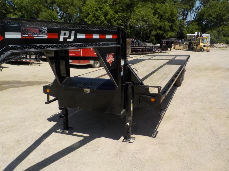 2020 PJ Trailers 25' Low-Pro Flatdeck with Duals Trailer