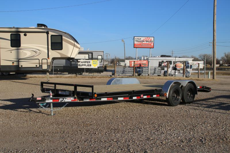2021 PJ Trailers 5 in. Channel Carhauler 5 x 20 (C5) Car / Racing Trailer