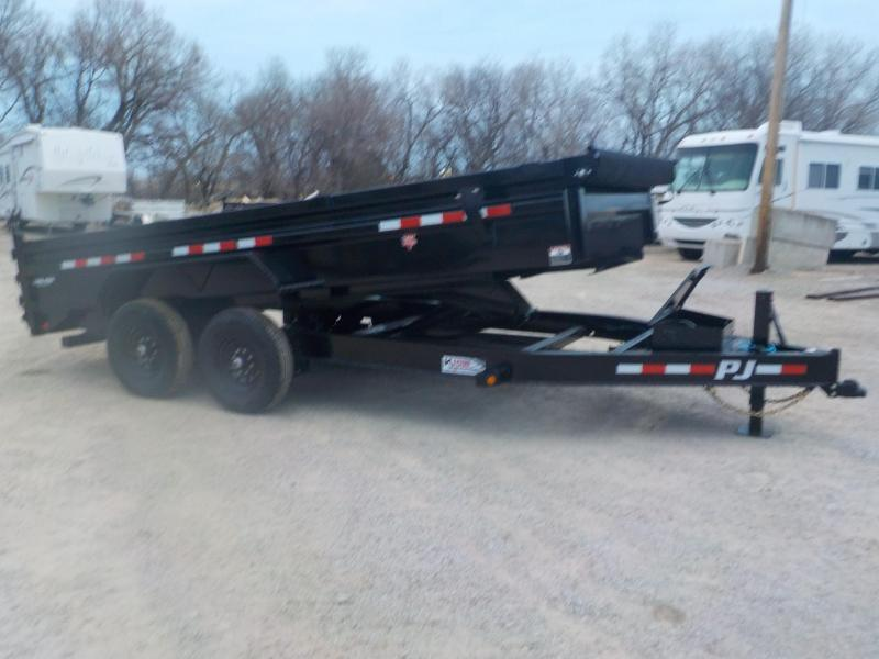 2021 PJ Trailers DL Dump Box Trailer 7X14