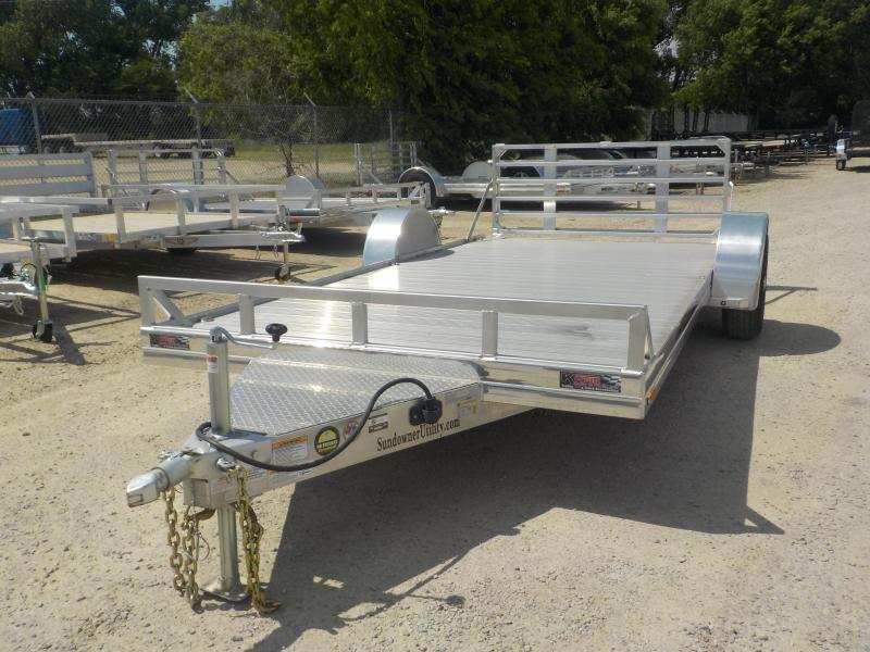 "2020 Sundowner Trailers 81""x 14' Single Axle Utility Trailer"