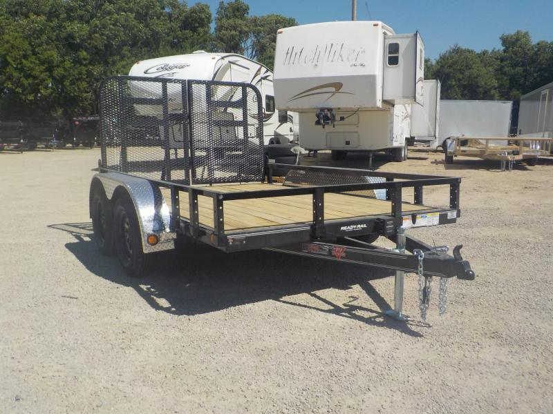 "2021 PJ Trailers 10' x 83"" Tndm Axle Channel Utility Trailer"