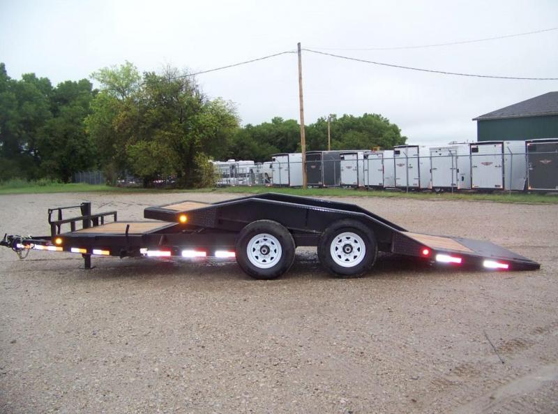 "2020 PJ Trailer 6"" x 20ft Channel Super-Wide Tilt Equipment Trailer"