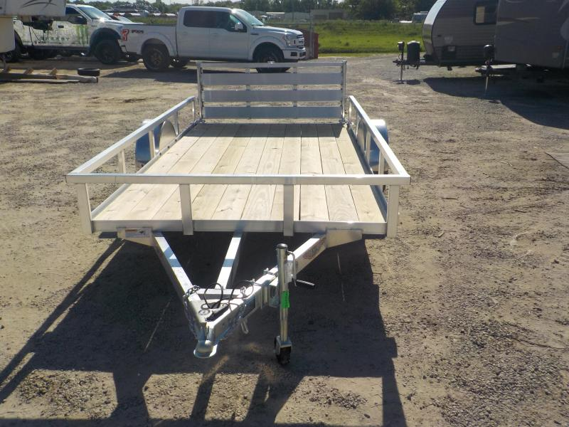 2020 H and H Trailer RSA 8X12F RS Utility Trailer