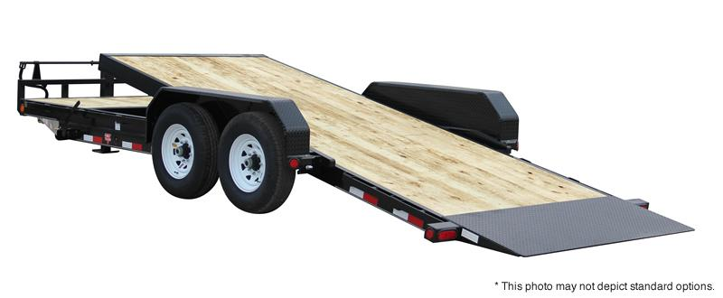 "2021 PJ Trailers 22' x 6"" Channel Equipment Tilt Trailer"