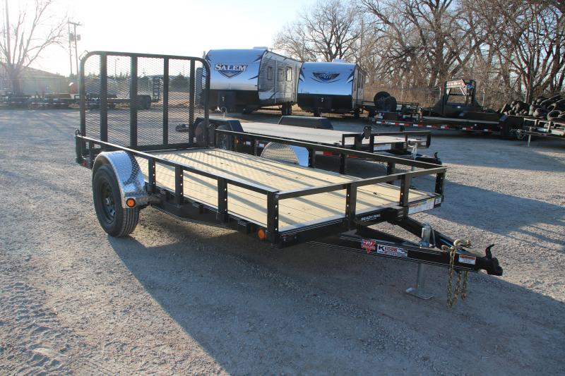 2021 PJ Trailers 6 x 14 Single Axle Channel Utility (U7) Utility Trailer