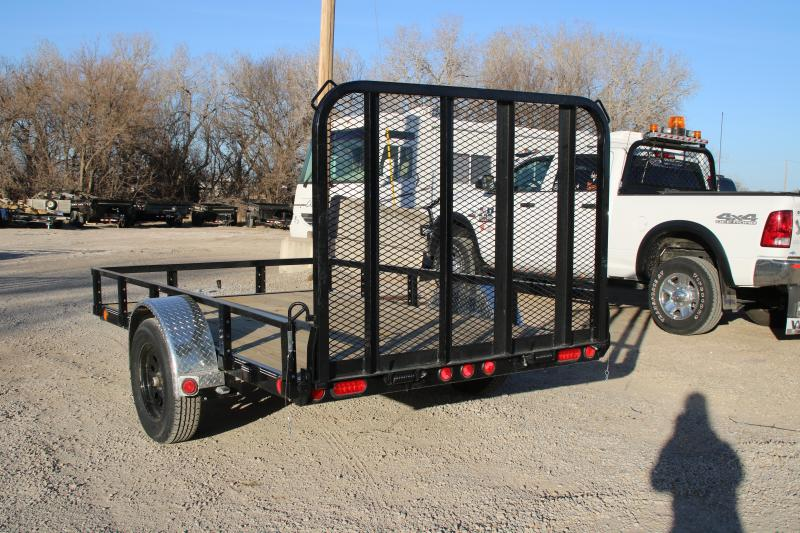 2021 PJ Trailers 6 x 14 Single Axle Channel Utility (U2) Utility Trailer