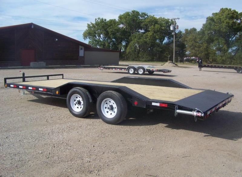 "2020 PJ 20' 5"" Channel  Buggy Hauler Open Car / Racing Trailer"