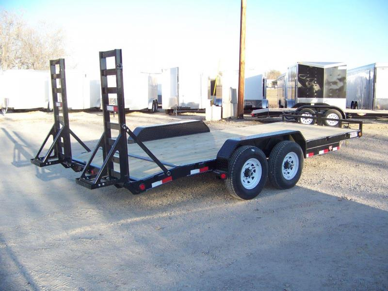 2020 PJ Trailers 18' 6 in. Channel Equipment (CC) Equipment Trailer