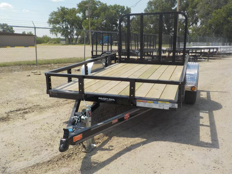 "2020 PJ Trailers 10' x 72"" Sngl Axle Channel Utility Trailer"