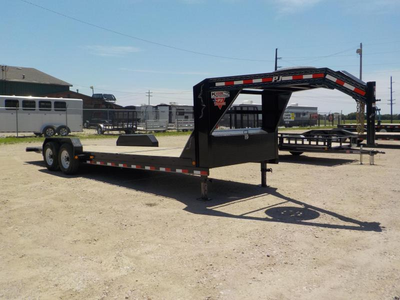 2020 PJ Trailers 24Ft 6 in. Channel Equipment Tilt (T6) Equipment Trailer
