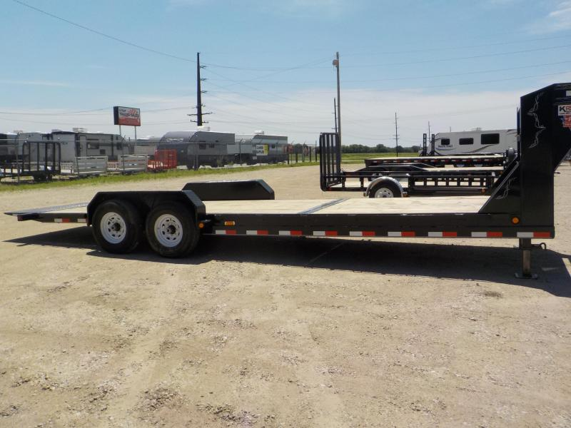 2020 PJ Trailers 24Ft 6 in. Channel Equipment Tilt (T6) Equipment Trailer