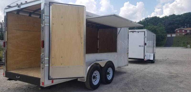 2020 Interstate 6x16 I Series Concession Cargo Trailer 10k