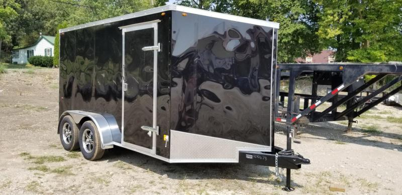 2021 Interstate 7x12 SFC Enclosed Cargo Trailer 7k