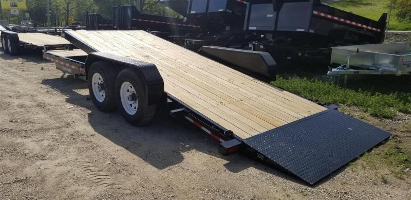 2021 Sure-Trac 7x18+4 Tilt Deck Equipment Trailer w/Lock Out Value 14k