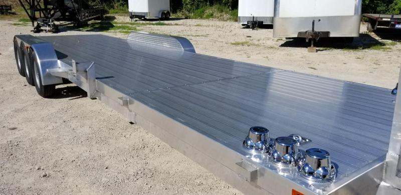 ON ORDER 2021 R and R Trailers 7x30 Aluminum Open Deck Auto Hauler 10k